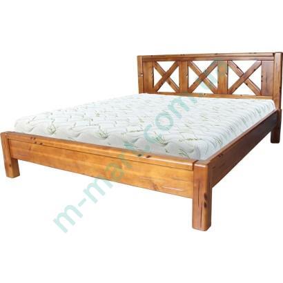 Кровать из натурального дерева Кантри