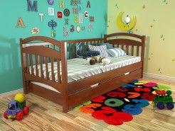 Кровать Алиса сосна яблоня