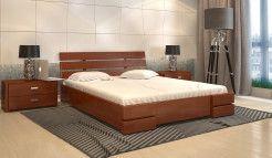 Кровать Дали Люкс с ПМ сосна яблоня