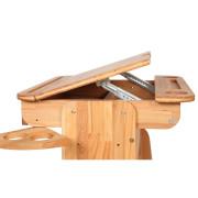 Парта Растишка с ящиком С-470-1 (без стула)