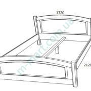 Кровать Верона-2 схема