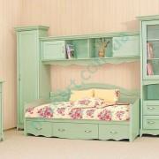 Детская комната Селина 2 ольха зеленая