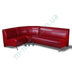 Офисный диван Метро комплект (1+2+угол)