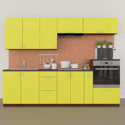 Кухня Колор-микс набор №68