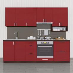 Кухня Колор-микс набор №77