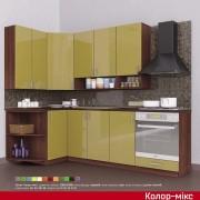 Кухня угловая Колор-микс набор №82