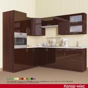 Кухня угловая Колор-микс набор №89
