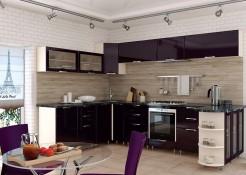 Кухня София Люкс - Темный фиолет