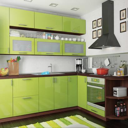 Кухня угловая Колор-микс набор №74