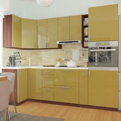 Кухня угловая Колор-микс набор №80