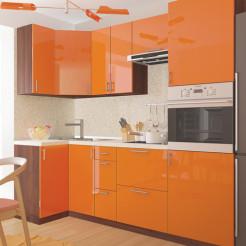 Кухня угловая Колор-микс набор №92