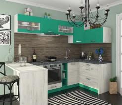 Угловая кухня Шарлотта комплект 2