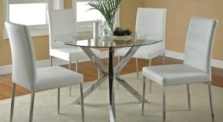 Стеклянный стол: все за и против