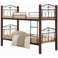 Двухъярусная металлическая кровать Элизабет
