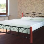 Металлическая кровать Элизабет двуспальная
