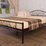 Металлическая кровать Лара Люкс двуспальная