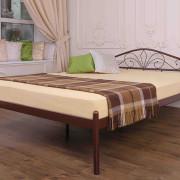 Металлическая кровать Лара двуспальная