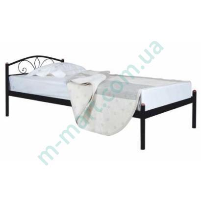 Металлическая кровать Лара односпальная