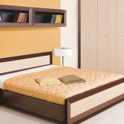 Модульная спальня Клео-4 Светлый венге