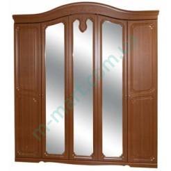 Шкаф 5Д Луиза - Дуб золотой