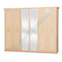 Шкаф 6Д Флоренция - Светлый венге