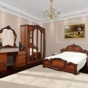 Спальня Империя 4Д — Орех
