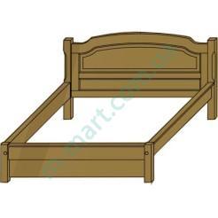 Кровать Глория-4