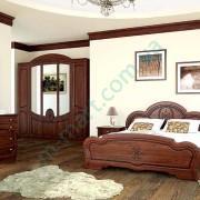 Спальня Каролина-2 Вишня портофино