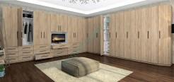 Гардеробная комната Гринвич