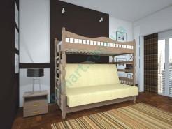 Кровать Тис Комби-3