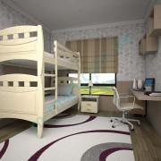 Кровать Тис Трансформер-11 лак