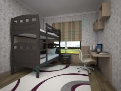 Кровать Тис Трансформер-11 венге