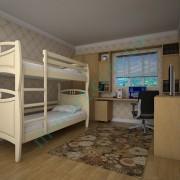 Кровать Тис Трансформер-12 лак