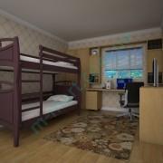 Кровать Тис Трансформер-12 махонь