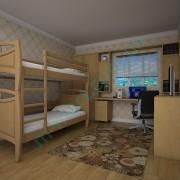 Кровать Тис Трансформер-12 ольха