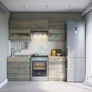 Кухня Алина 2,0 — Трюфель+Дуб сонома