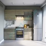 Кухня Марта 2,0 — Трюфель+Дуб сонома