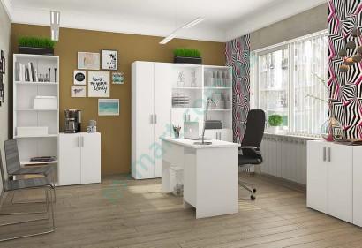 Модульный кабинет Симпл - стол Студент, стеллажи Джек_1