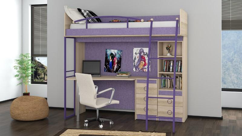 Кровать-чердак – идеальное решение для детей всех возрастов