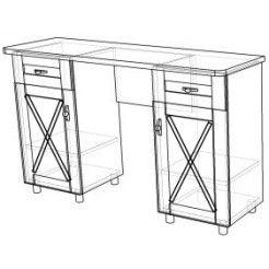 Дамский стол Глория-1