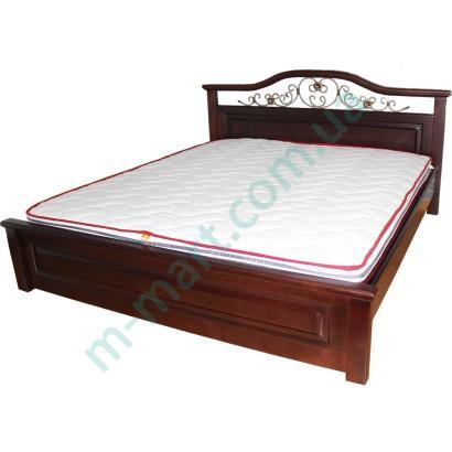 Кровать Вера с ковкой