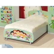 Детская Мульти — Кровать 1-сп Алфавит