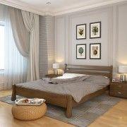 Кровать Венеция сосна орех