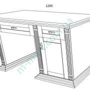 Дамский стол Версаль-2