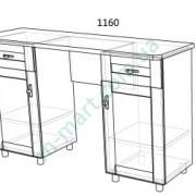Дамский стол Верона-1