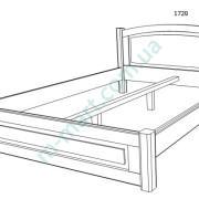 Кровать Верона-1 схема