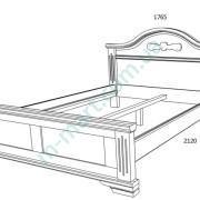 Кровать Флоренция схема