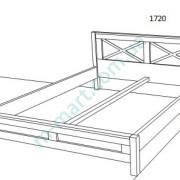 Кровать Глория размеры