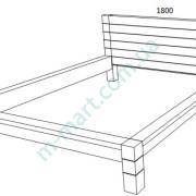 Кровать Империя схема