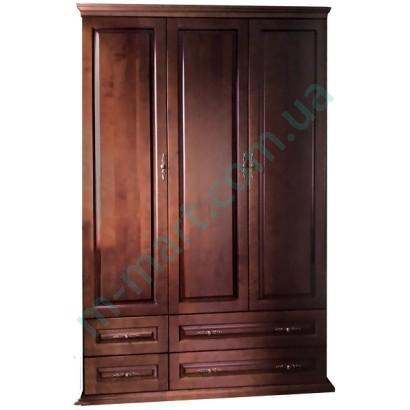Шкаф распашной ЕМ Филенка 3Дя
